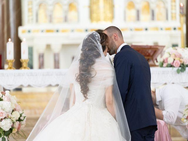 Il matrimonio di Francesco e Giada  a Grottaferrata, Roma 42