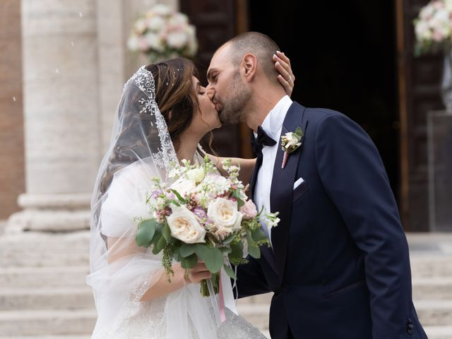 Il matrimonio di Francesco e Giada  a Grottaferrata, Roma 43