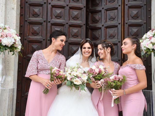Il matrimonio di Francesco e Giada  a Grottaferrata, Roma 46