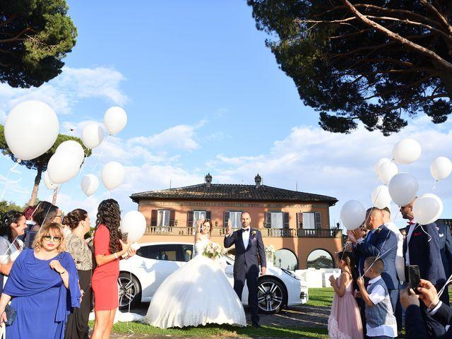Il matrimonio di Francesco e Giada  a Grottaferrata, Roma 48
