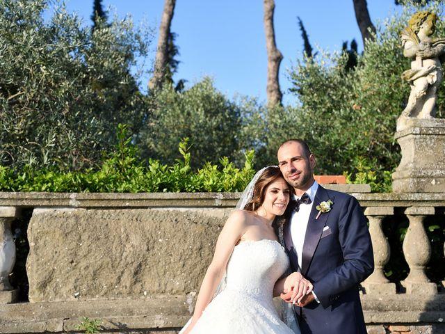 Il matrimonio di Francesco e Giada  a Grottaferrata, Roma 49