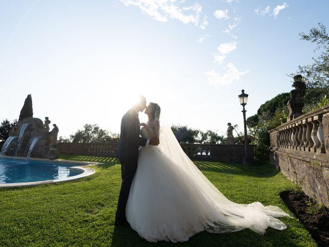 Il matrimonio di Francesco e Giada  a Grottaferrata, Roma 50