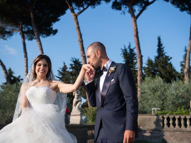 Il matrimonio di Francesco e Giada  a Grottaferrata, Roma 51