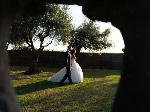 Il matrimonio di Francesco e Giada  a Grottaferrata, Roma 54