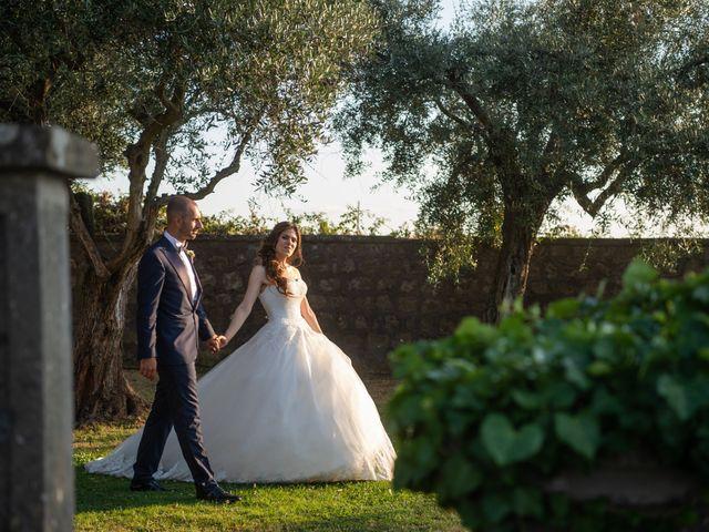 Il matrimonio di Francesco e Giada  a Grottaferrata, Roma 55