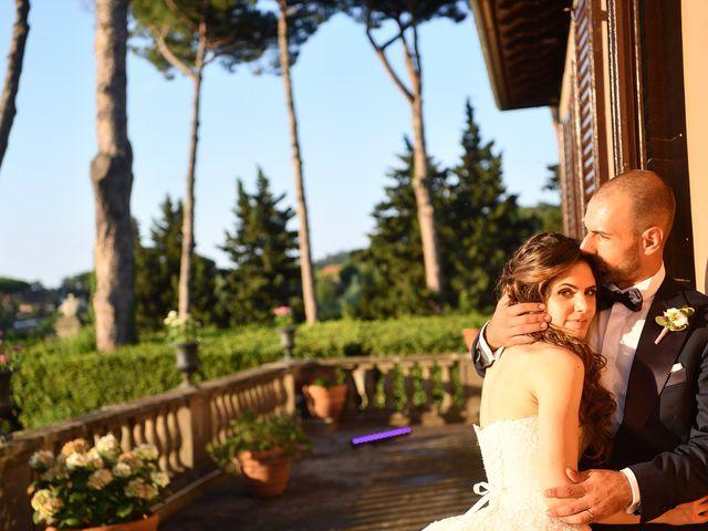 Il matrimonio di Francesco e Giada  a Grottaferrata, Roma 57