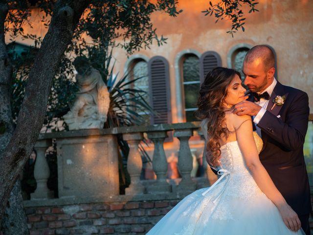 Il matrimonio di Francesco e Giada  a Grottaferrata, Roma 61