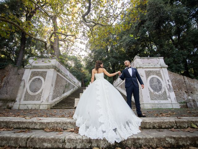 Il matrimonio di Francesco e Giada  a Grottaferrata, Roma 74