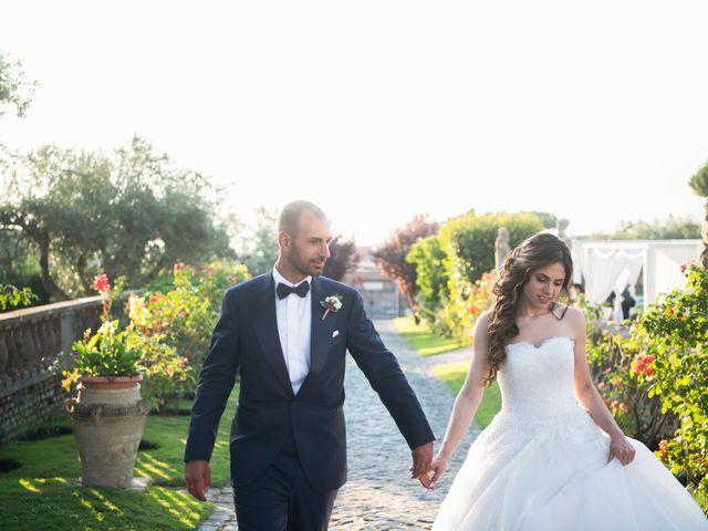Il matrimonio di Francesco e Giada  a Grottaferrata, Roma 96