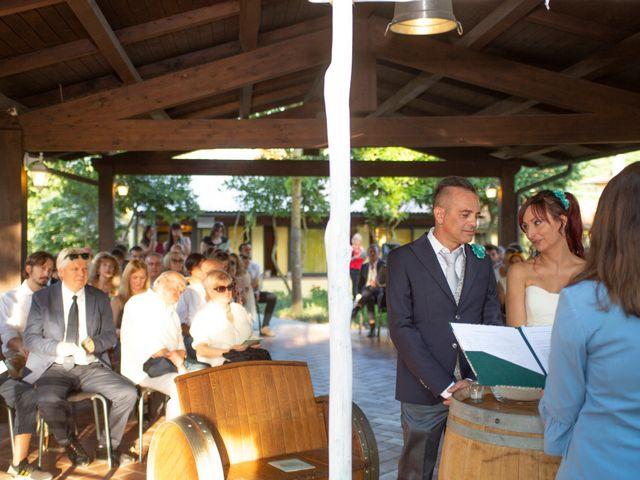 Il matrimonio di Leonardo e Donatella a Terranuova Bracciolini, Arezzo 18