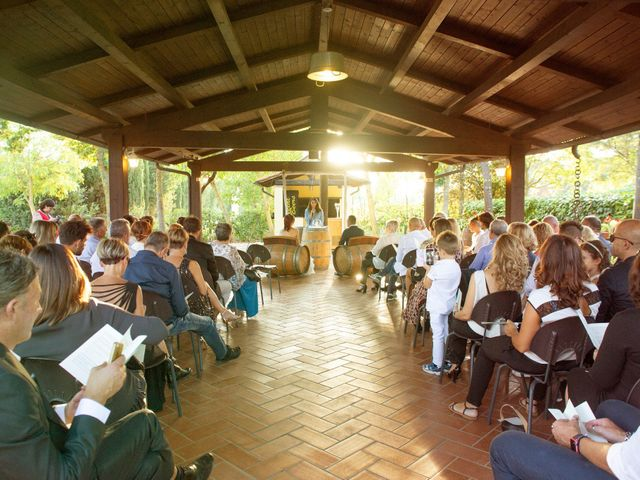 Il matrimonio di Leonardo e Donatella a Terranuova Bracciolini, Arezzo 19