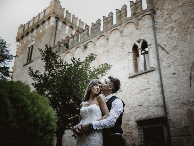 le nozze di Giada e Fabio