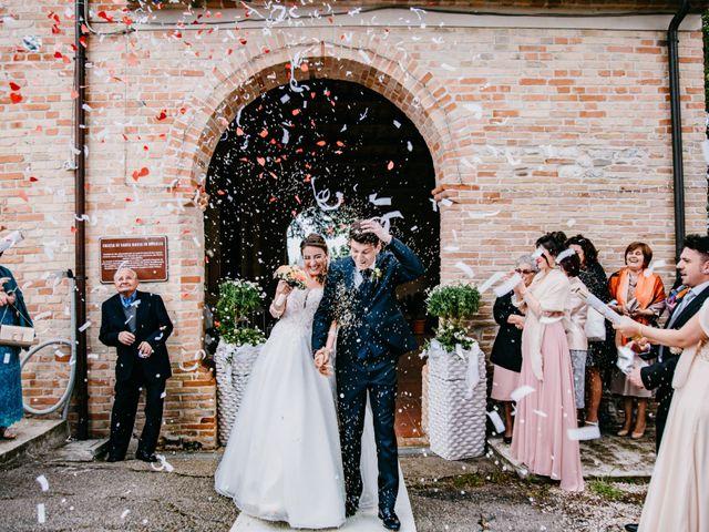 Il matrimonio di Francesco e Ilaria a Bellante, Teramo 39