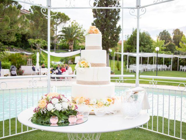 Il matrimonio di Francesco e Ilaria a Bellante, Teramo 74