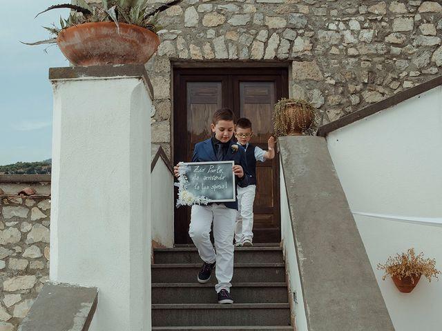 Il matrimonio di Paolo e Chloé a Vico Equense, Napoli 20