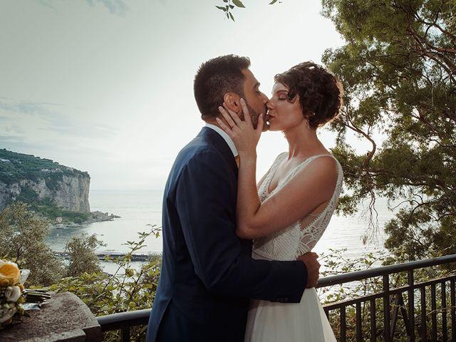 Il matrimonio di Paolo e Chloé a Vico Equense, Napoli 31