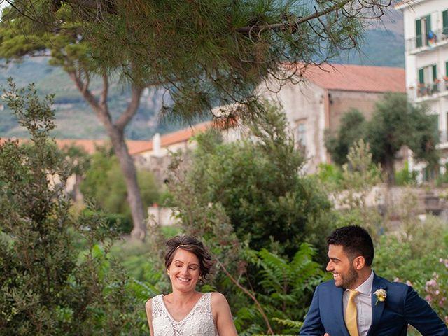 Il matrimonio di Paolo e Chloé a Vico Equense, Napoli 37