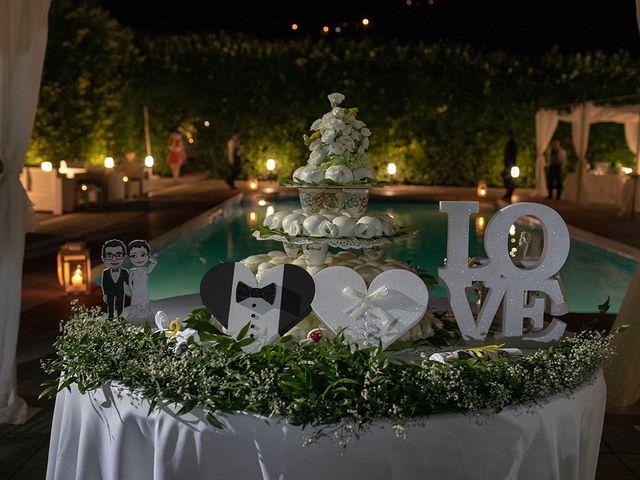 Il matrimonio di Paolo e Chloé a Vico Equense, Napoli 57
