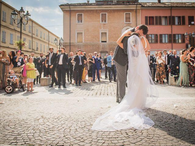 Il matrimonio di Francesco e Sara a Castel San Giovanni, Piacenza 24