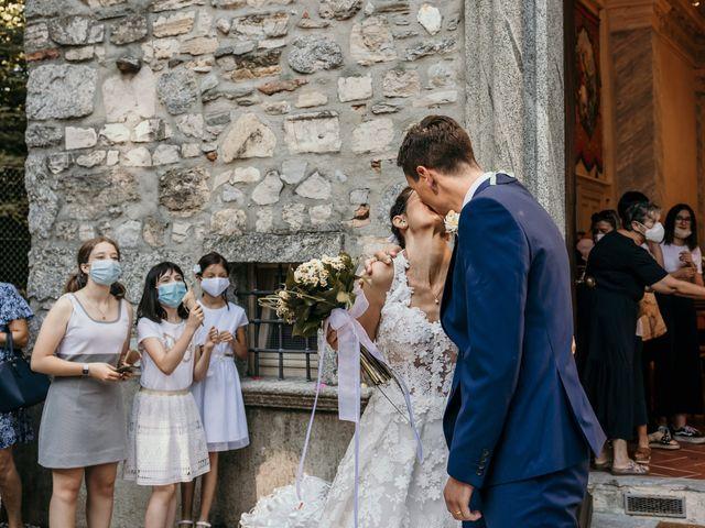Il matrimonio di Andrea e Myriam a Erba, Como 282