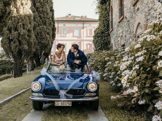 Il matrimonio di Andrea e Myriam a Erba, Como 383