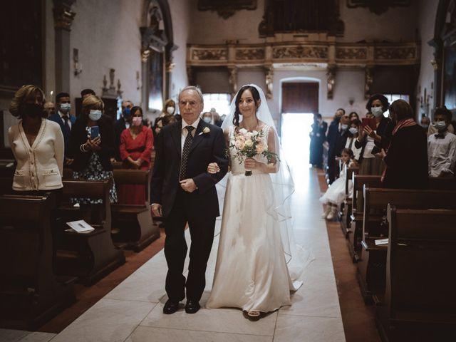 Il matrimonio di Francesco e Cristina a Figline Valdarno, Firenze 11