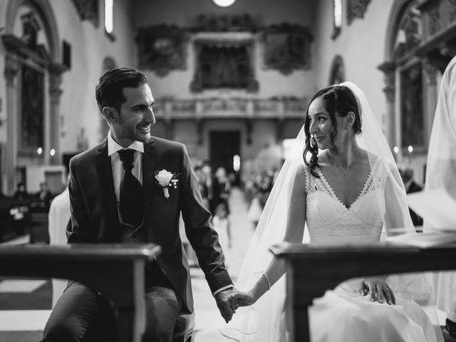 Il matrimonio di Francesco e Cristina a Figline Valdarno, Firenze 14