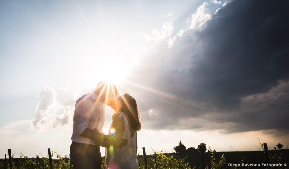 Il matrimonio di Francesco e Sara a Castel San Giovanni, Piacenza