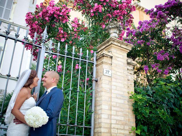 Il matrimonio di Rafael e Ornella a Grottammare, Ascoli Piceno 16