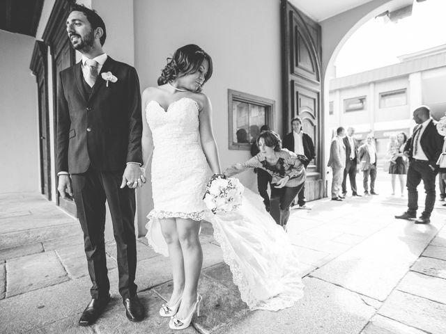Il matrimonio di Francesco e Yessica a Robecco sul Naviglio, Milano 10