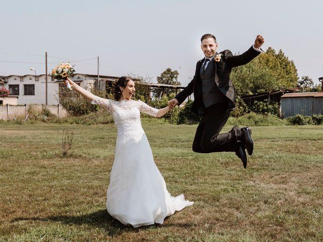 Il matrimonio di Valentina e Gianluca a Ronco all'Adige, Verona 19