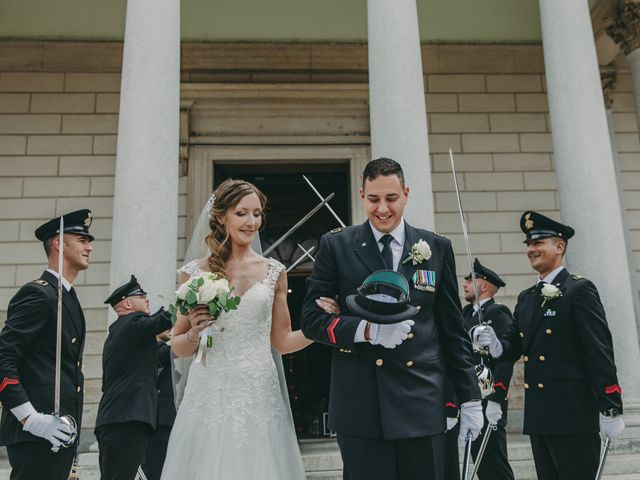 Le nozze di Samantha e Marco
