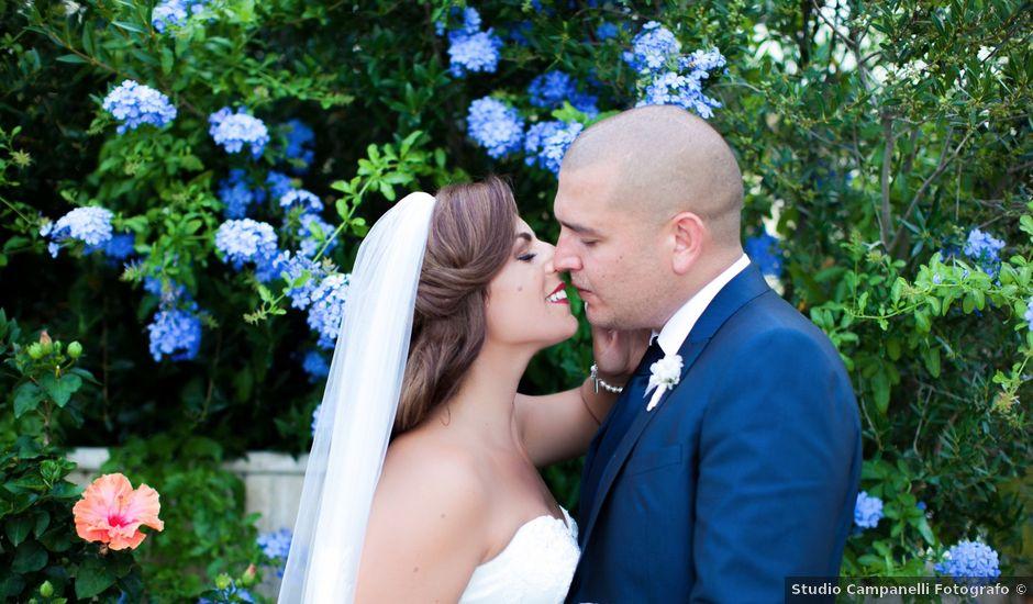 Il matrimonio di Rafael e Ornella a Grottammare, Ascoli Piceno