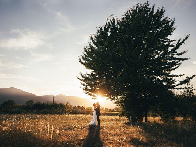 le nozze di Angela e Luca