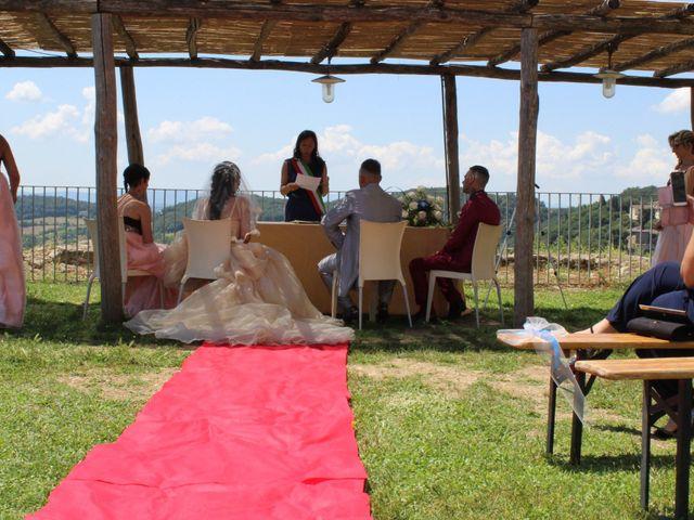 Il matrimonio di Ergyst e Kathryn a Poggibonsi, Siena 4
