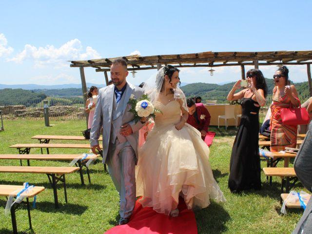 Il matrimonio di Ergyst e Kathryn a Poggibonsi, Siena 6