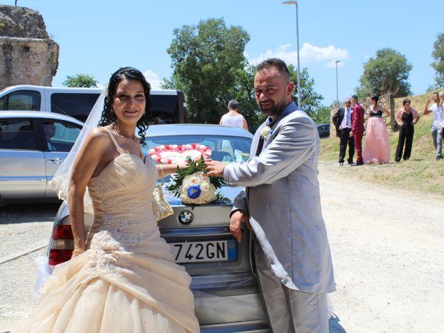 Il matrimonio di Ergyst e Kathryn a Poggibonsi, Siena 7