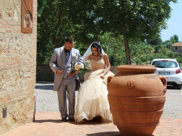 Il matrimonio di Ergyst e Kathryn a Poggibonsi, Siena 9