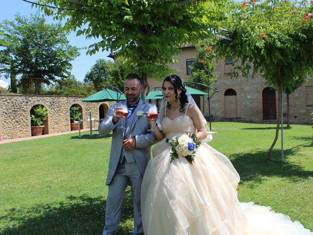 Il matrimonio di Ergyst e Kathryn a Poggibonsi, Siena 10