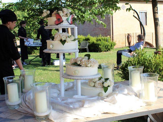 Il matrimonio di Ergyst e Kathryn a Poggibonsi, Siena 1