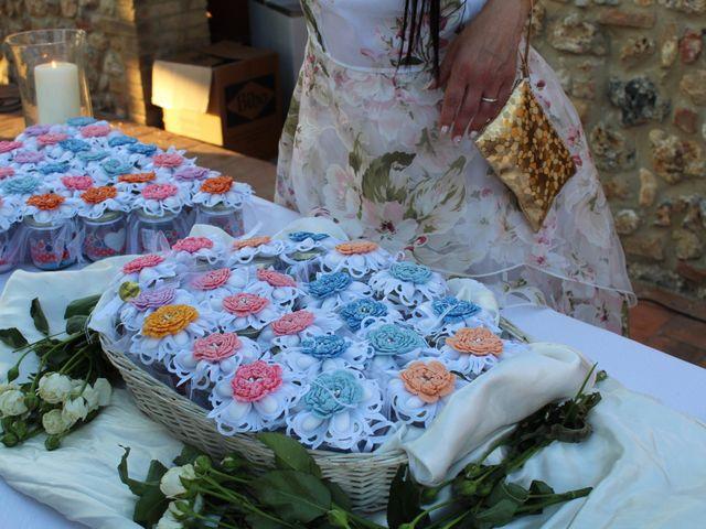 Il matrimonio di Ergyst e Kathryn a Poggibonsi, Siena 21