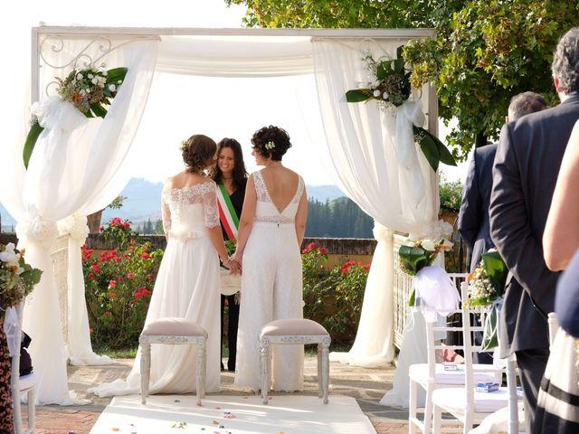 Il matrimonio di Serena e Laura a Montespertoli, Firenze 7