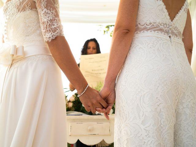 Il matrimonio di Serena e Laura a Montespertoli, Firenze 1
