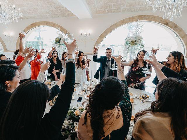 Il matrimonio di Giada e Cosimo a Poggiardo, Lecce 81