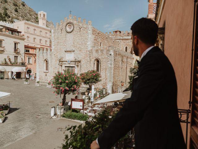 Il matrimonio di Chiara e Luca a Taormina, Messina 10