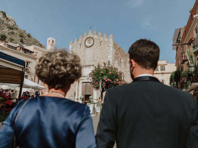 Il matrimonio di Chiara e Luca a Taormina, Messina 15
