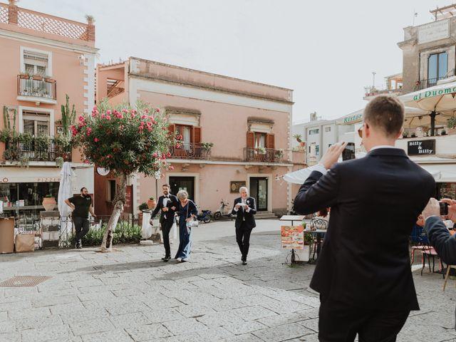 Il matrimonio di Chiara e Luca a Taormina, Messina 16