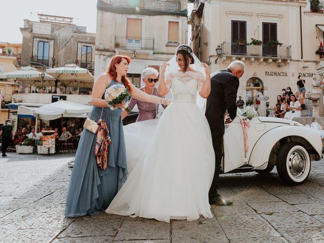 Il matrimonio di Chiara e Luca a Taormina, Messina 20