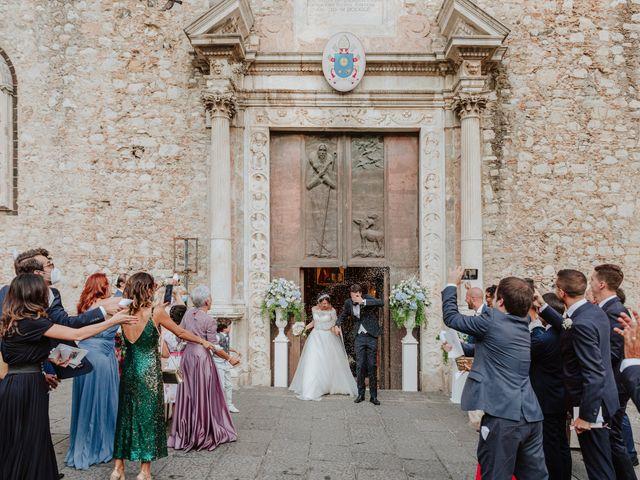 Il matrimonio di Chiara e Luca a Taormina, Messina 26