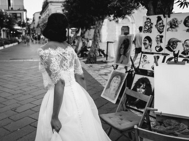 Il matrimonio di Chiara e Luca a Taormina, Messina 32
